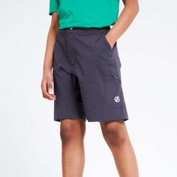 Kids' Reprise Lightweight Walking Shorts Ebony Grey