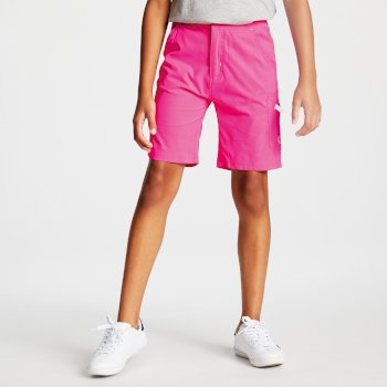 Kids' Reprise Lightweight Walking Shorts Cyber Pink