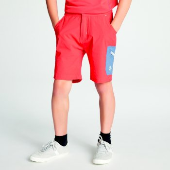 Kids' Reprise Lightweight Walking Shorts Cajun Orange