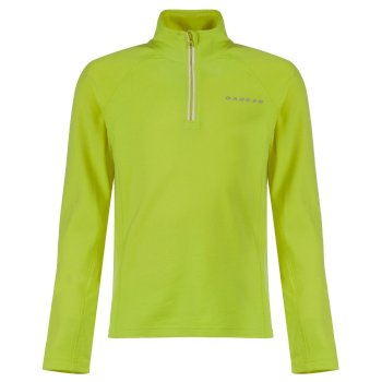Kids Ricochet III Core Stretch Midlayer Electric Lime