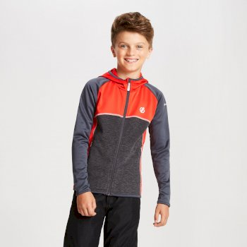 Veste technique sous couche Junior CURATE CORE STRETCH Rouge