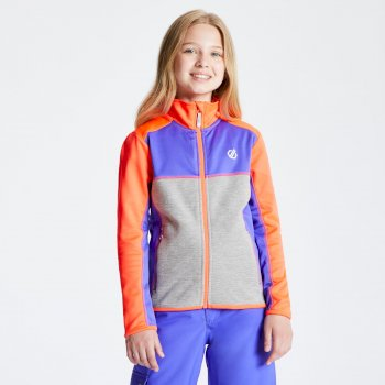 Veste technique sous couche Junior EXCEED CORE STRETCH Orange