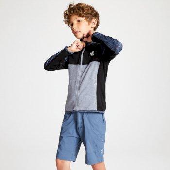 Veste technique sous couche Junior EXCEED CORE STRETCH Meteor Grey Black