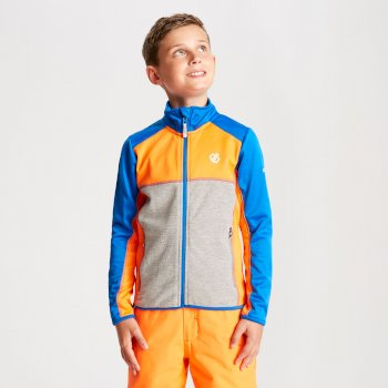 Veste technique sous couche Junior EXCEED CORE STRETCH Bleu