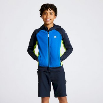 Kids' Twofold Hooded Core Stretch Midlayer Outerspace Athletic Blue