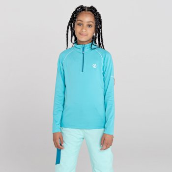 Kids' Consist II Recycled Lightweight Core Stretch Midlayer Azure Blue