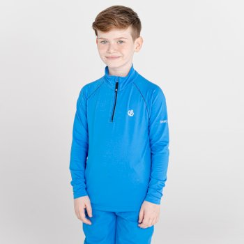 Kids' Consist II Recycled Lightweight Core Stretch Midlayer Athletic Blue
