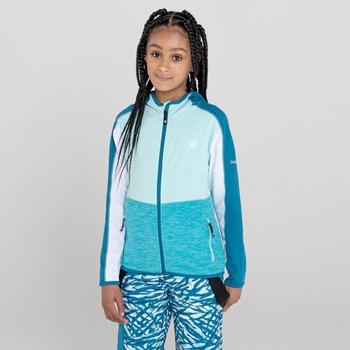 Kids' Hasty III Lightweight Core Stretch Midlayer Azure Blue Marl Aruba Blue