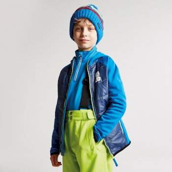 Kids Infused Insulated Hybrid Jacket Athletic Blue Admiral Blue