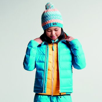 7e4dab50f Kids Download Down Fill Hooded Jacket Sea Breeze