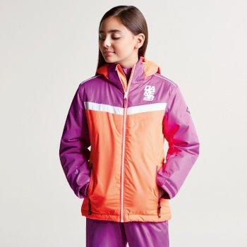 Veste imperméable chaude Start Out Jacket FieryCr/UvPu