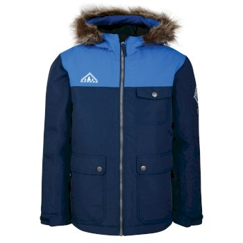 Kids Reckless Waterproof Insulated Ski Jacket Admiral Blue Athletic Blue