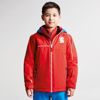 Kids Labyrinth Ski Jacket Code Red