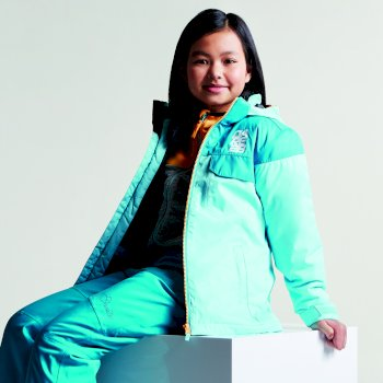Kids Tyke Ski Jacket Sea Breeze Blue Bahama Blue