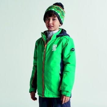 Kids Quell Ski Jacket Nordic Ebony Grey