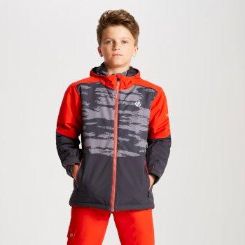 Veste de ski Junior AVIATE Gris