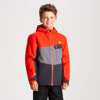 Veste de ski Junior WREST Gris