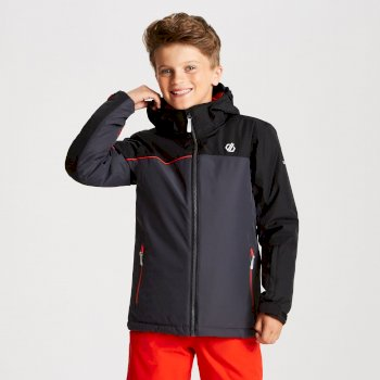 Kids' Legit Ski Jacket Ebony Black