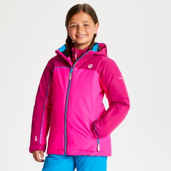 Veste de ski Junior LEGIT Rose