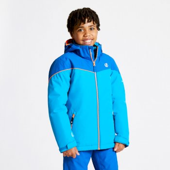 Kids' Oath Ski Jacket Atlantic Blue Oxford Blue