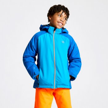 Kids' Amused Ski Jacket Oxford Blue Atlantic Blue