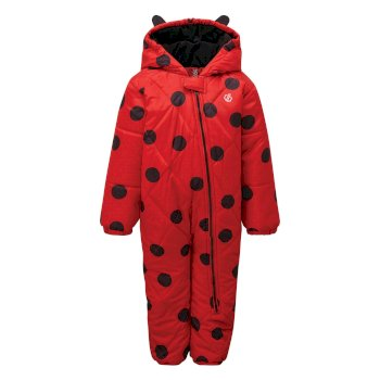 Kids' Bambino Snowsuit Lollipop Red Ladybird