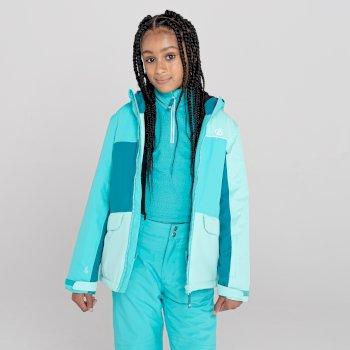 Kids' Remarkable Waterproof  Ski Jacket Azure Blue