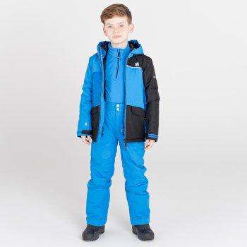 Kids' Remarkable Waterproof  Ski Jacket Athletic Blue Black