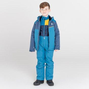 Kids' Impose II Waterproof Ski Jacket Dark Denim