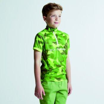 T-Shirt Juvento Jersey LimeP/CamoGr