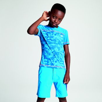 Kids' Buoyant Active T-Shirt Petrol Blue