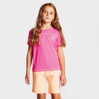 Kids' Buoyant Active T-Shirt Cyber Pink