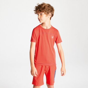 Kids' Buoyant Active T-Shirt Cajun Orange