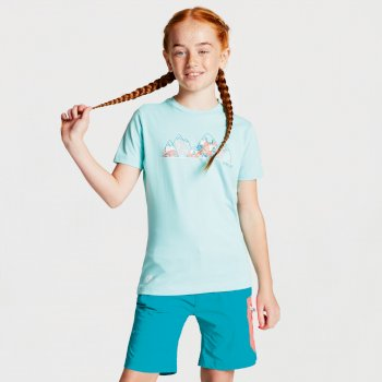 Kids' Frenzy Graphic T-Shirt Aruba Blue Mountain