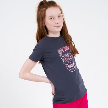 T-Shirt Junior GO BEYOND Avec Imprimé Gris