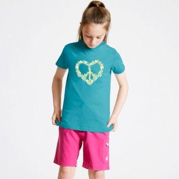 T-Shirt Junior GO BEYOND Avec Imprimé Bleu