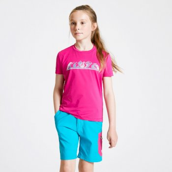Kids' Rightful Graphic T-Shirt Active Pink