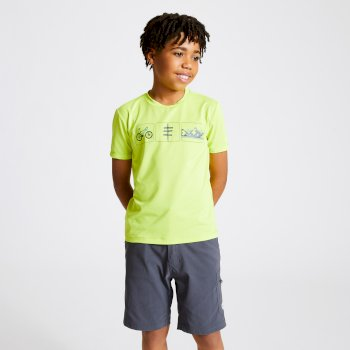 Kids' Rightful Graphic T-Shirt Lime Punch Green
