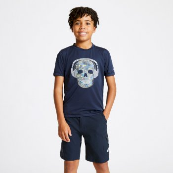 T-shirt Junior RIGHTFUL avec imprimé Bleu