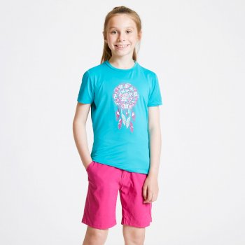 Kids' Rightful Graphic T-Shirt Aqua