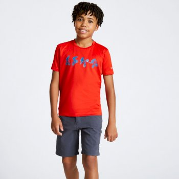 Kids' Rightful Graphic T-Shirt Fiery Red