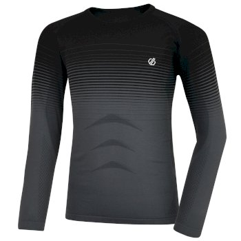 Kids' In The Zone Base Layer Set Black Gradient