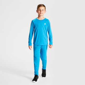 Kids' Elate Base Layer Set Atlantic Blue