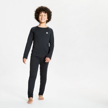 Kids' Elate Base Layer Set Black