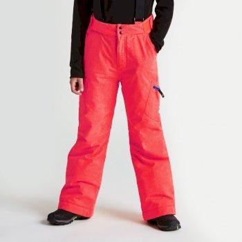 Kids Spur On Ski Pants Code Red