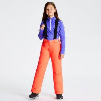 Kids' Outmove Ski Pants Fiery Coral