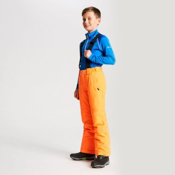 Kids' Outmove Ski Pants Vibrant Orange