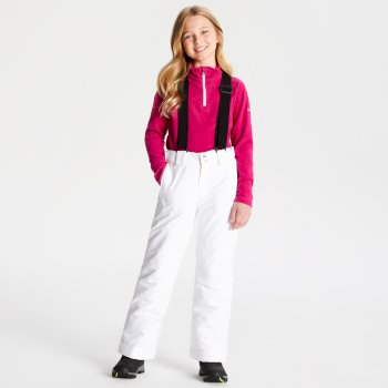 Salopette de ski technique Junior OUTMOVE Blanc