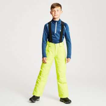 Kids' Outmove Ski Pants Citron Lime