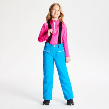 Salopette ski Junior TIMEOUT Bleu